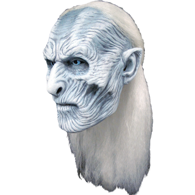 Game of Thrones White Walker Rubber Face Mask - ONE SIZE Adult