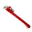 NewRuleFX Brand Extra Large Foam Rubber Stunt 24 Inch Pipe Wrench Prop - NEW - Red and Silver