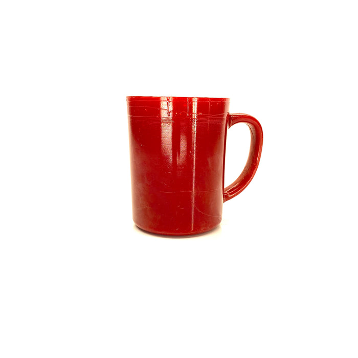 NewRuleFX Brand SMASHProps Breakaway Large Mug Prop - RED opaque - Red,Opaque