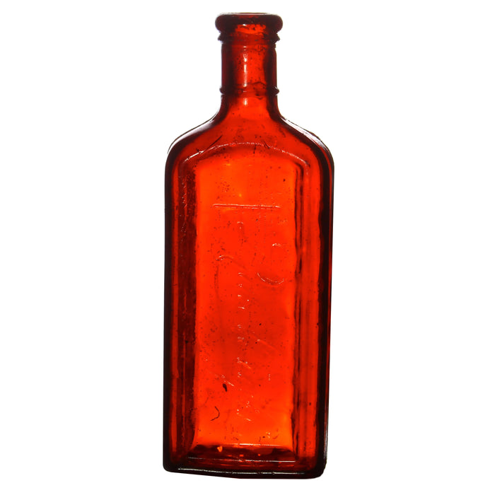 NewRuleFX Brand SMASHProps Breakaway Large Medicine Bottle Prop - AMBER BROWN translucent - Amber Brown Translucent