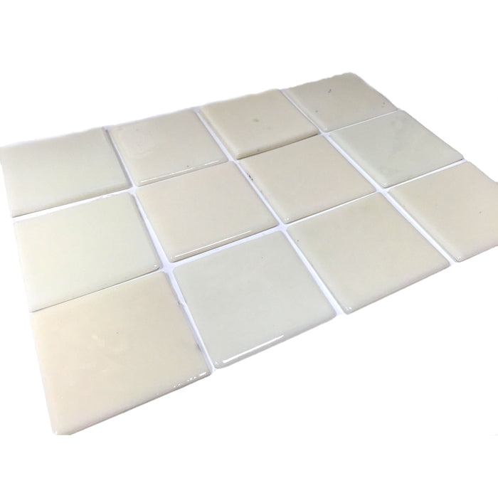 NewRuleFX Brand SMASHProps Breakaway Glass or Ceramic Tile Prop 4 Inch x 4 Inch - White,Opaque