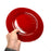 NewRuleFX Brand SMASHProps Breakaway Large Dinner Plate - RED opaque - Red,Opaque