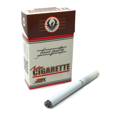 NewRuleFX Brand Electronic Actor Cigarette Prop Kit - USB, Vapor Smoke, LED Burn/Ash Effect - WHITE