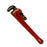 "NewRuleFX Brand Foam Rubber Stunt 18"" Pipe Wrench Prop - NEW - Red and Black with Metallic Highlights"