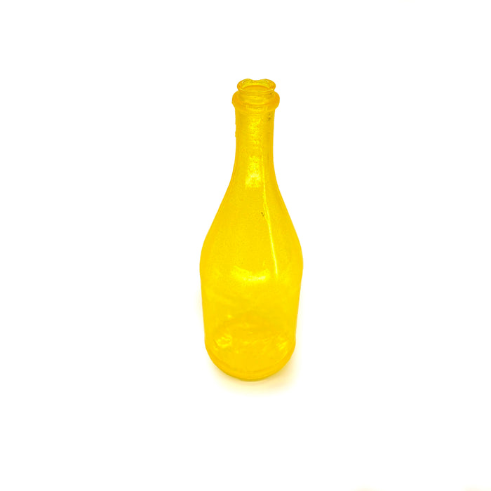 NewRuleFX Brand SMASHProps Breakaway Champagne Bottle Prop - YELLOW translucent - Yellow Translucent