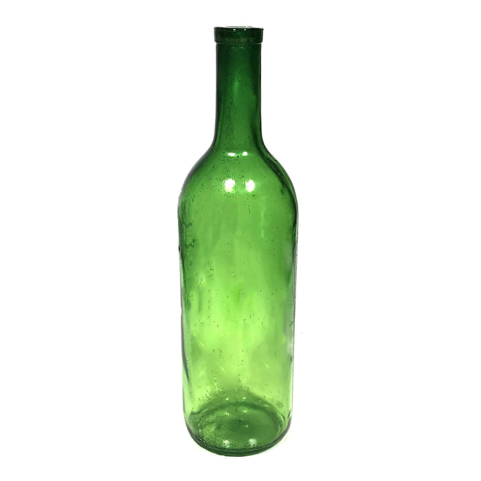 NewRuleFX Brand SMASHProps Breakaway Bordeaux Wine Bottle Stunt Prop - DARK GREEN translucent - Dark Green Translucent