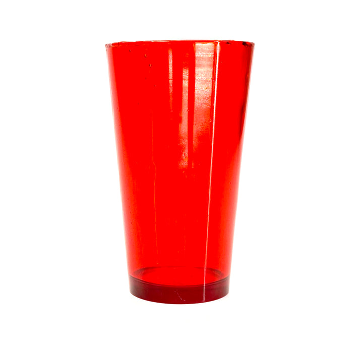 NewRuleFX Brand SMASHProps Breakaway Beer Pint Glass Prop - RED translucent - Red Translucent