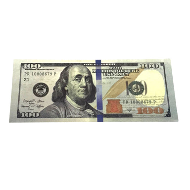Money Prop - New Style $100's Crisp New $10,000 Full Print Stack