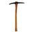 NewRuleFX Brand Foam Rubber Large Mining Pick Axe Stunt Prop - BLOODY - Bloodied Silver Head with Aged Handle