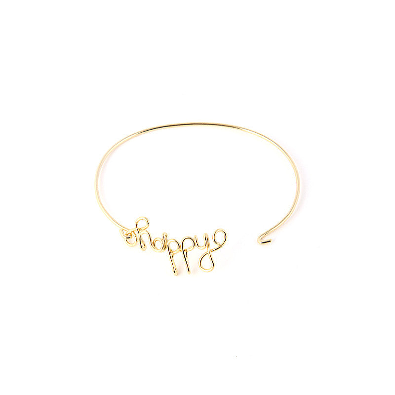 Happy Bracelet - Jewelry Buzz Box  - 3