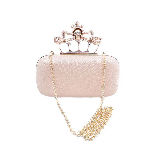 Skull Queen Clutch - Jewelry Buzz Box  - 1