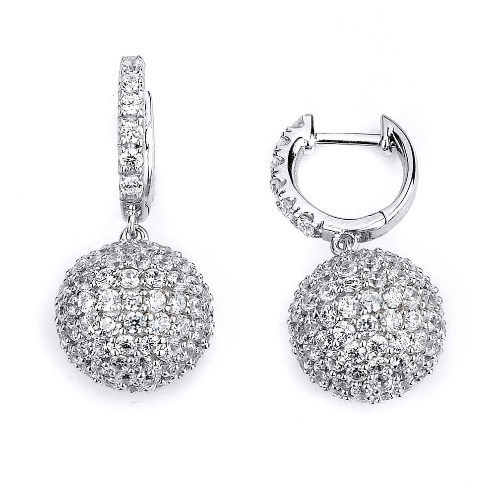 Ball Drop Earrings - Jewelry Buzz Box  - 1