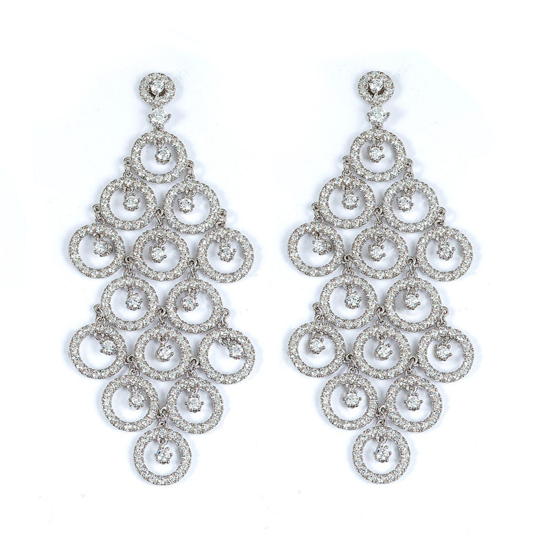 Chic Chadelier Earrings - Jewelry Buzz Box  - 1