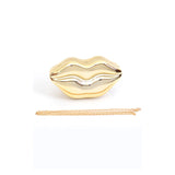 Luscious Lips Handbag - Jewelry Buzz Box  - 5