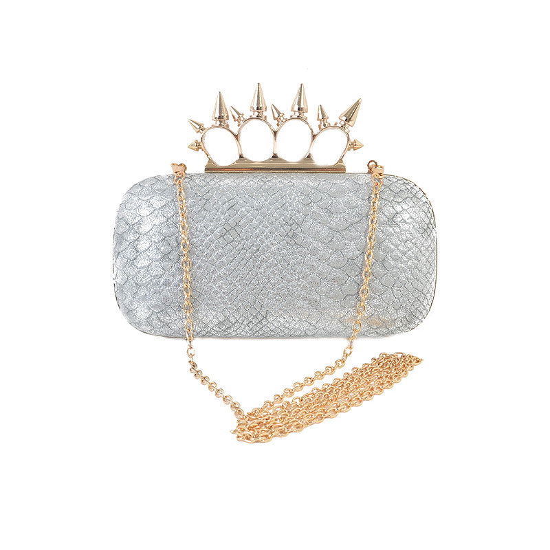 Snake & Spike Clutch - Jewelry Buzz Box  - 2