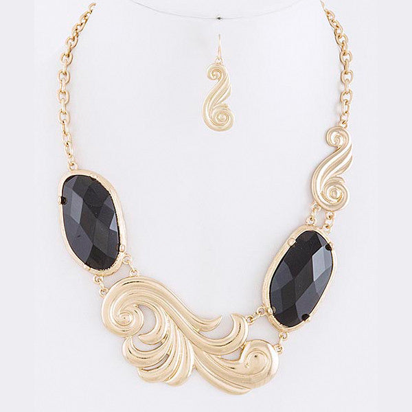 Swirl Necklace - Jewelry Buzz Box  - 2