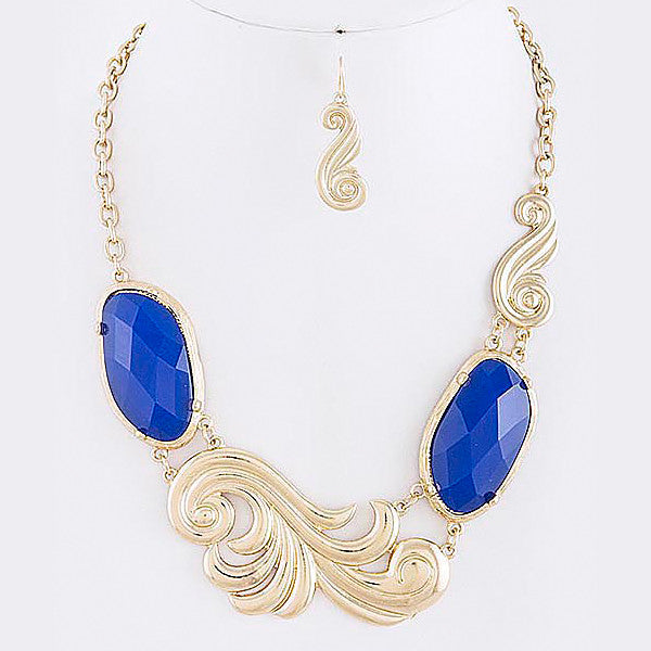 Swirl Necklace - Jewelry Buzz Box  - 3