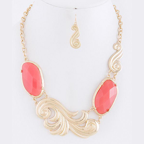Swirl Necklace - Jewelry Buzz Box  - 4
