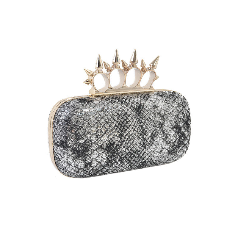 Snake & Spike Clutch - Jewelry Buzz Box  - 4