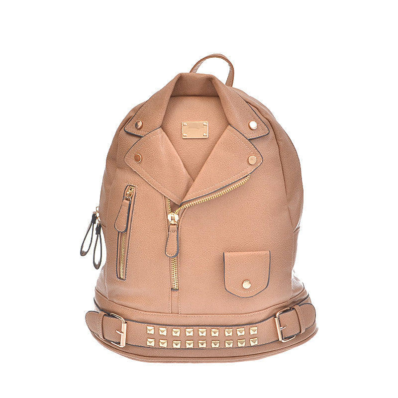 Leather Jacket Backpack - Jewelry Buzz Box  - 3