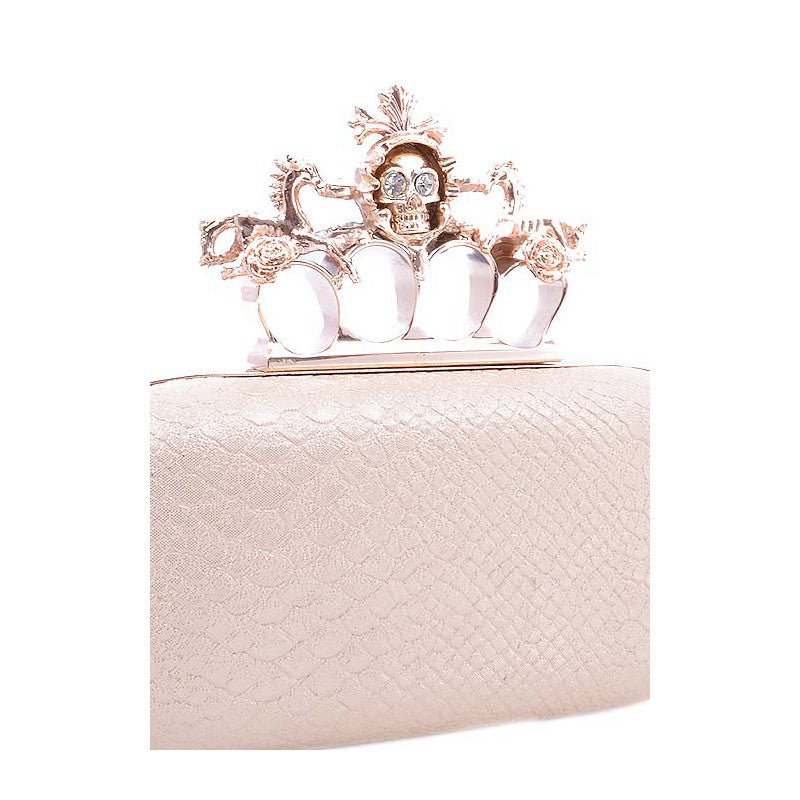 Skull Queen Clutch - Jewelry Buzz Box  - 4
