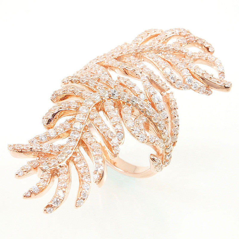 Feather Ring - Jewelry Buzz Box