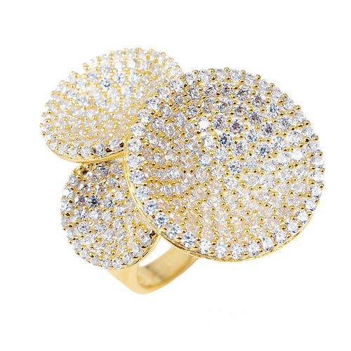 Diva Disk Ring - Jewelry Buzz Box  - 1