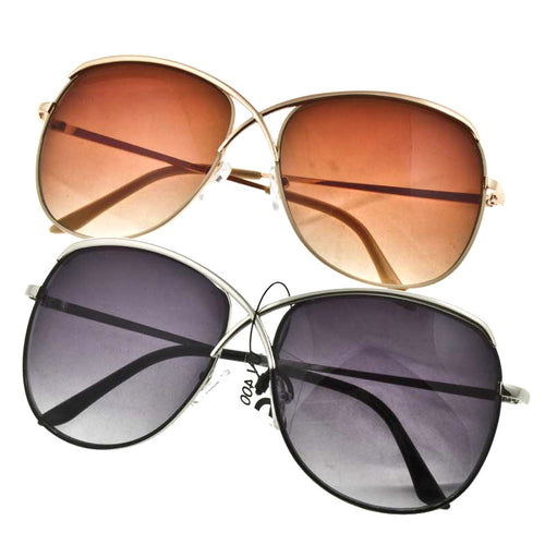 Crisscross Sunglasses - Jewelry Buzz Box  - 1