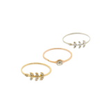 Fall Stackable Rings - Jewelry Buzz Box  - 1