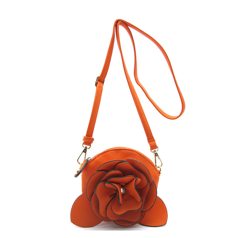 Fancy Flower Purse - Jewelry Buzz Box  - 6