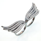 Angelic Wing Ring - Jewelry Buzz Box  - 2