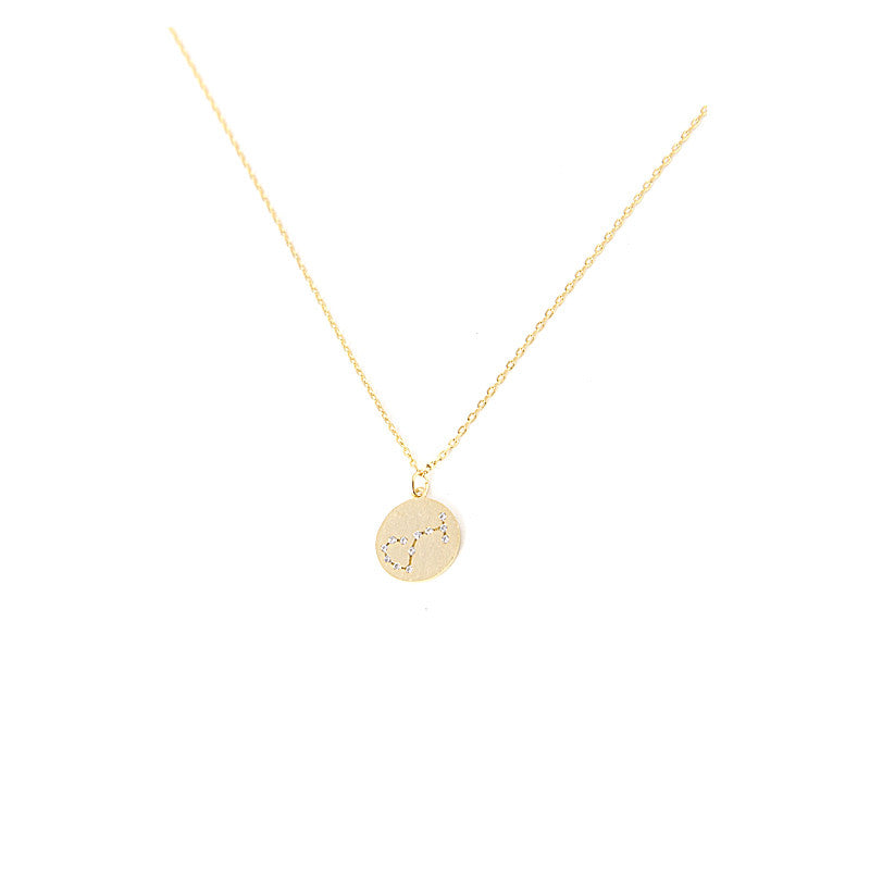 Zodiac Disk Necklace - Jewelry Buzz Box  - 3