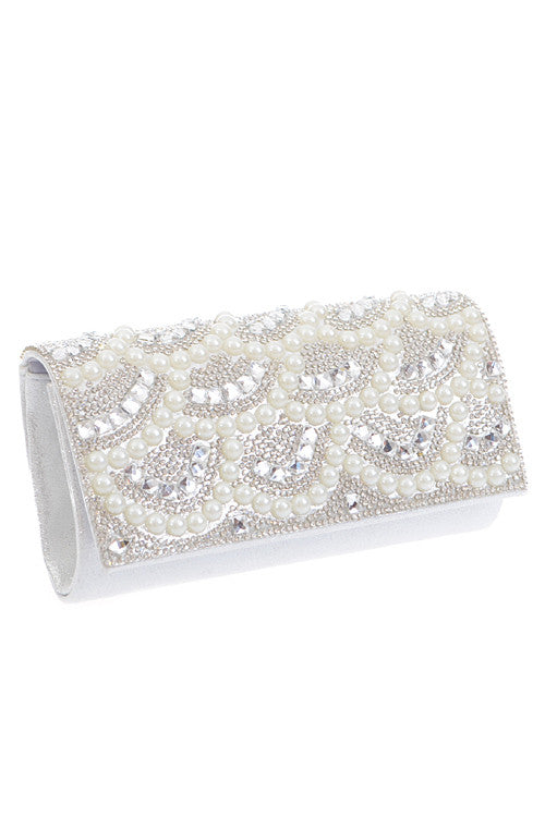Sparkle Pearl Clutch - Jewelry Buzz Box  - 1