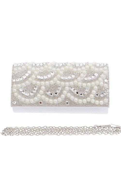 Sparkle Pearl Clutch - Jewelry Buzz Box  - 3