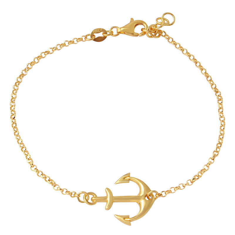 Anchor Bracelet - Jewelry Buzz Box  - 3