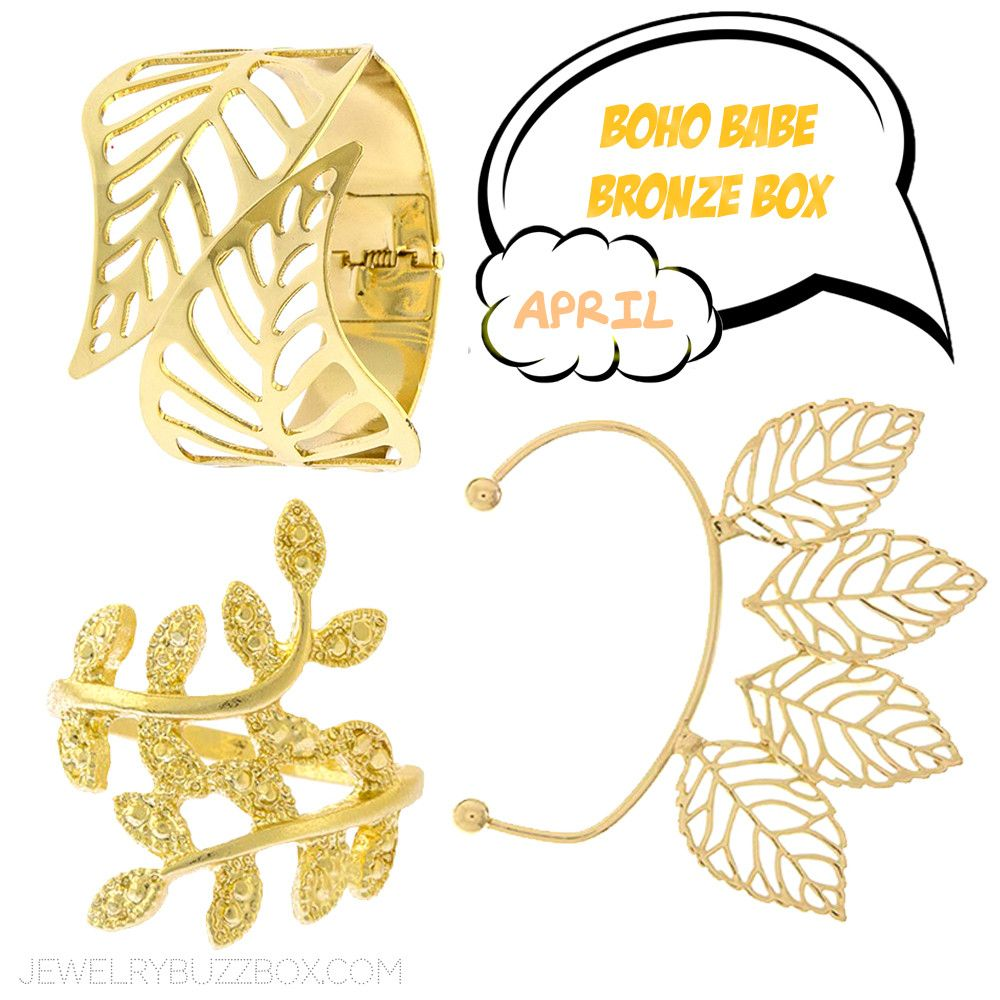 April Boho Babe Bronze Box - Jewelry Buzz Box  - 1