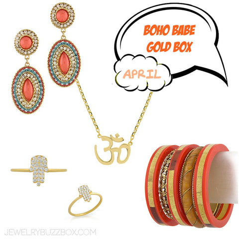 April Gold Bold & Wild Box