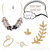April BoHo Silver Box - Jewelry Buzz Box  - 1