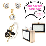 April Red Carpet Ready Gold Box - Jewelry Buzz Box  - 1