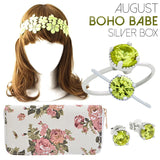 August Boho Babe Silver Box - Jewelry Buzz Box  - 1