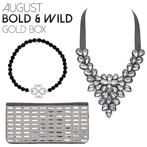 April Bold & Wild Silver Box