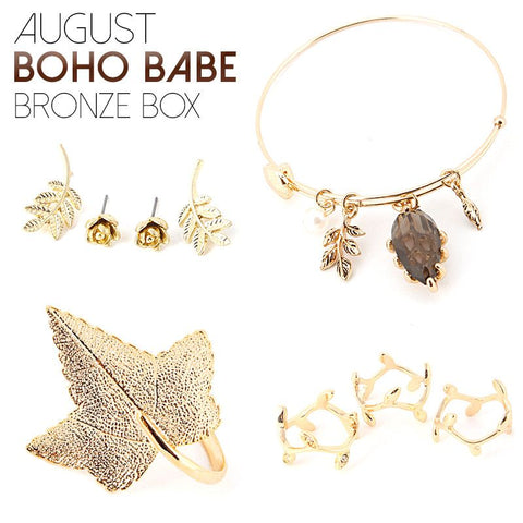 April Boho Babe Bronze Box