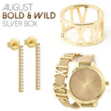 August Bold & Wild Silver Box - Jewelry Buzz Box  - 1
