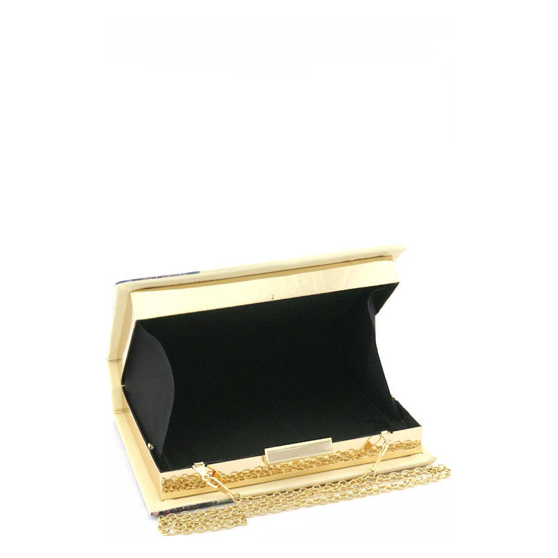 The Catalog of Type Clutch Purse - Jewelry Buzz Box  - 3