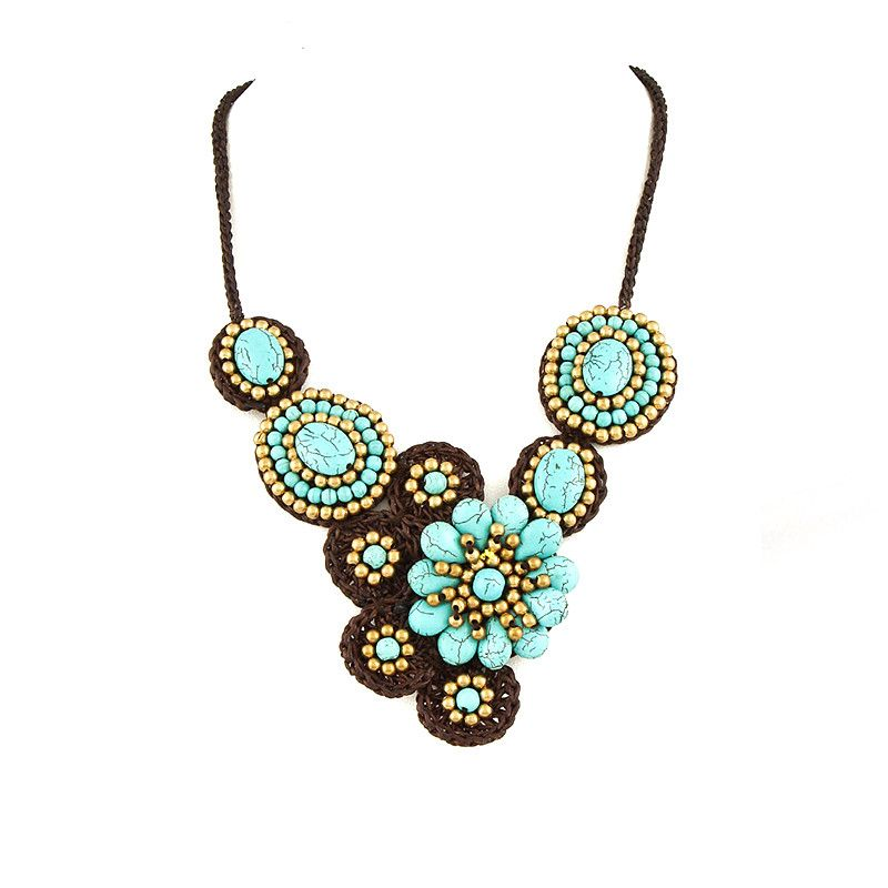 Boho Baby Blue Necklace - Jewelry Buzz Box  - 2