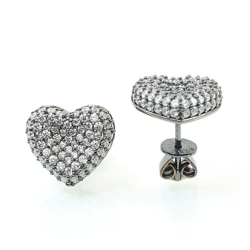 Sweet Heart Earrings - Jewelry Buzz Box