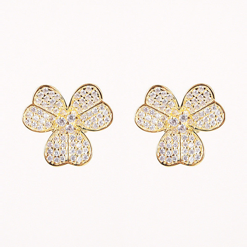 Clever Clover Studs
