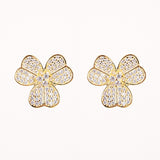 Clever Clover Studs - Jewelry Buzz Box  - 2