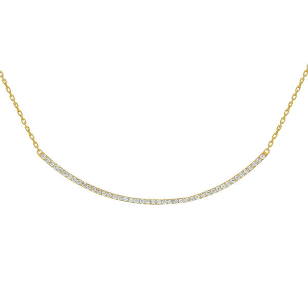 Curve Necklace - Jewelry Buzz Box  - 4