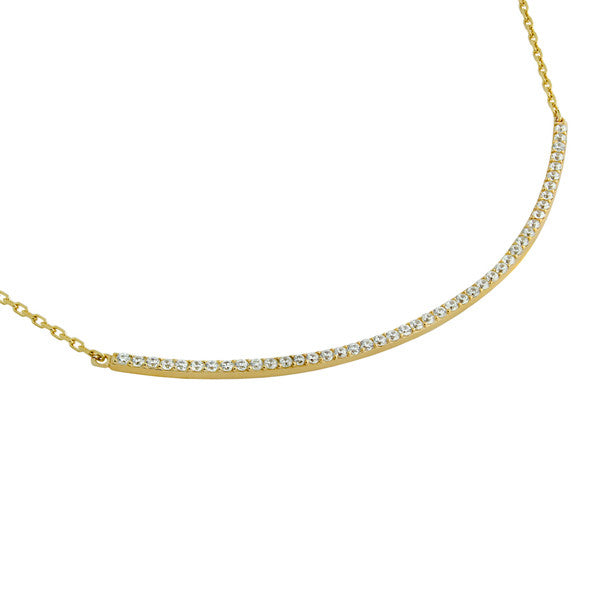 Curve Necklace - Jewelry Buzz Box  - 3